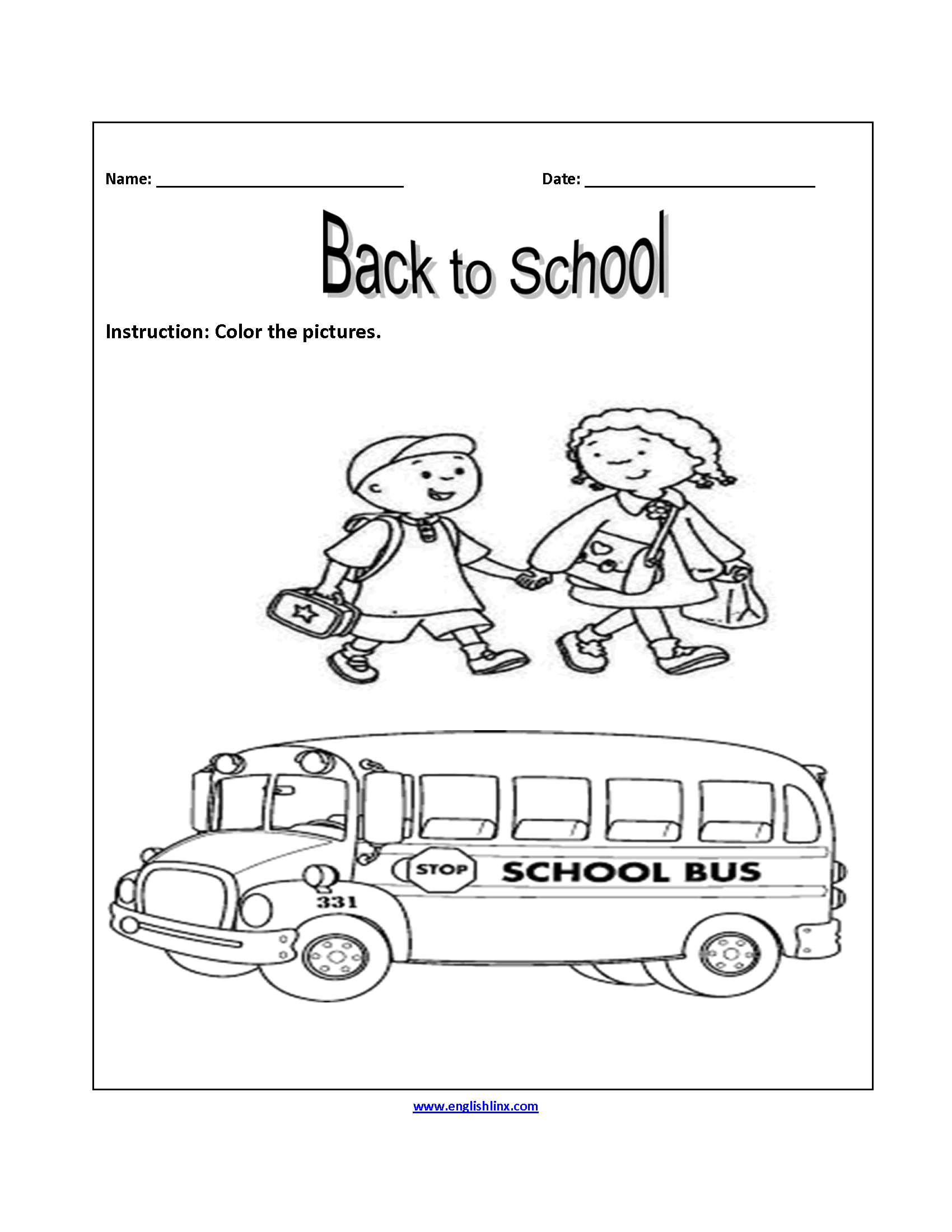 picture relating to Back to School Printable Worksheets identify Again in direction of College or university Worksheets Coloration the Illustrations or photos Again in the direction of